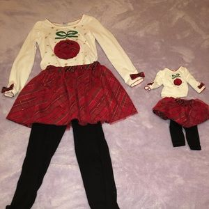 Dollie and me matching pant set -8